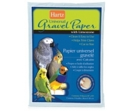Hartz Universal Gravel Paper with Limestone for All Birds Cages - универсална хартия за клетки