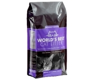 Worlds Best Cat Litter - постелка за котешка тоалетна с аромат на лавандула