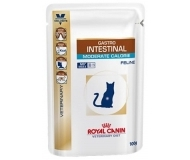 Royal Canin Gastro Intestinal Moderate Calorie Pouch - диетична храна за котки с наднормено тегло