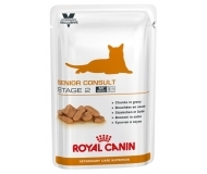 Royal Canin Senior Consult Stage 2 - пауч за кастрирани котки над 7 години