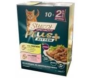 Stuzzy Cat Kitten Multipack - мулти опаковка паучове за малки котенца 12 броя