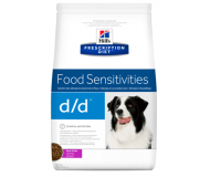 Hills Prescription Diet d/d Canine Duck&Rice - хранителни алергии