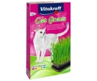 Vitakraft Cat Gras - котешка трева в съд готова за употреба