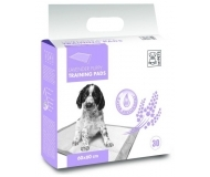 M-Pets Lavender Puppy Training Pads - памперси за постилане с аромат на лавандула M - 60 х 60 см / 30 бр