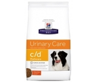 Prescription Diet™ c/d™ Canine - за разтваряне на струвитни уролити и профилактика на оксалатни уролити при кучета